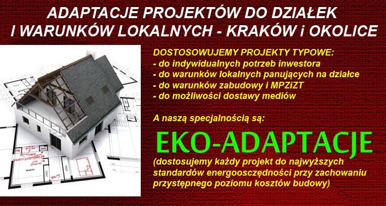 Adaptacje projektów typowych - Kraków.